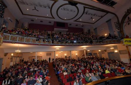 Over 800 people at The Palace Theatre